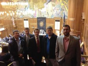 Last year's group at the statehouse.